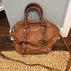 Michael Kora Bag - Brown Leather